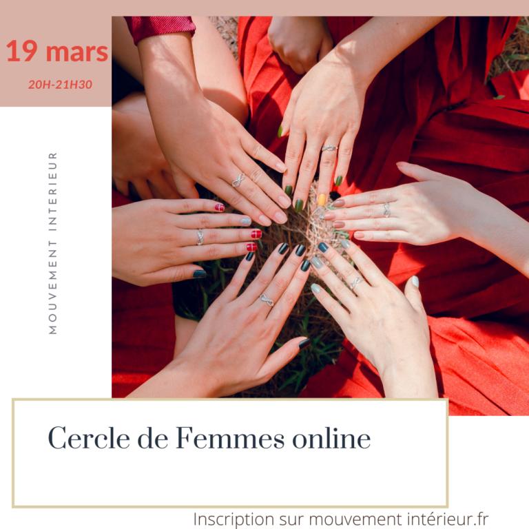 Cercle de Femmes – libérez votre potentiel féminin