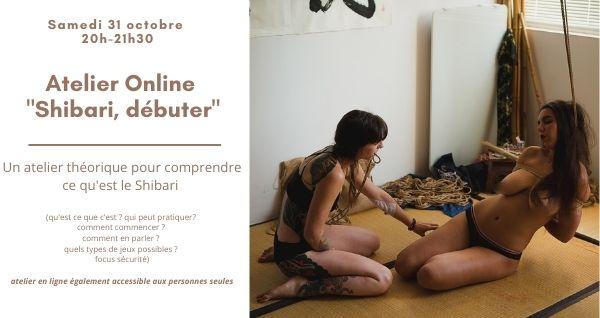 Cours en ligne Débuter le shibari