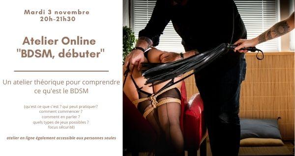 Cours en ligne Débuter le BDSM
